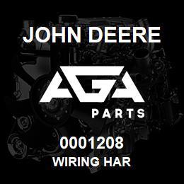 0001208 John Deere WIRING HAR