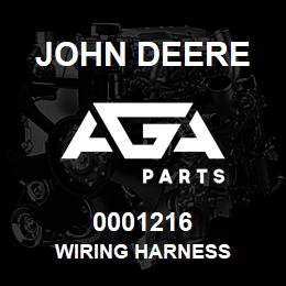 0001216 John Deere WIRING HARNESS | AGA Parts