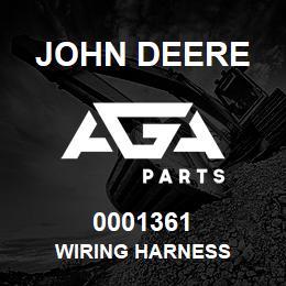 0001361 John Deere Wiring Harness
