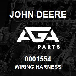 0001554 John Deere WIRING HARNESS | AGA Parts