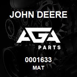 0001633 John Deere MAT | AGA Parts