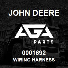 0001692 John Deere WIRING HARNESS | AGA Parts