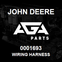 0001693 John Deere WIRING HARNESS | AGA Parts