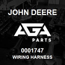 0001747 John Deere WIRING HARNESS