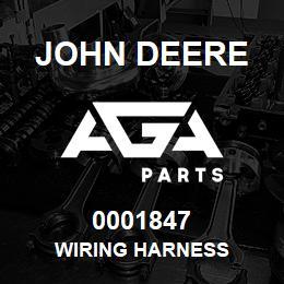 0001847 John Deere WIRING HARNESS