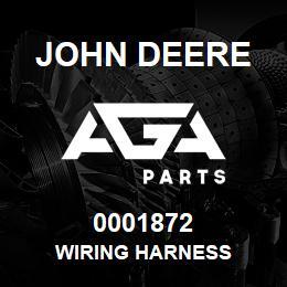 0001872 John Deere WIRING HARNESS