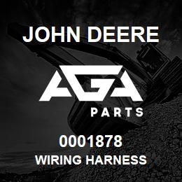 0001878 John Deere WIRING HARNESS | AGA Parts