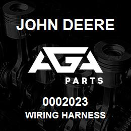0002023 John Deere WIRING HARNESS | AGA Parts