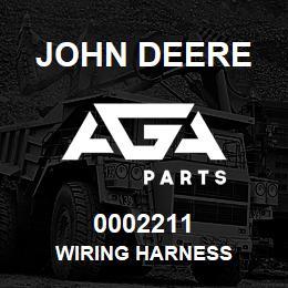 0002211 John Deere WIRING HARNESS