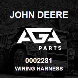 0002281 John Deere WIRING HARNESS