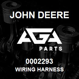 0002293 John Deere WIRING HARNESS | AGA Parts