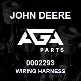 0002293 John Deere WIRING HARNESS
