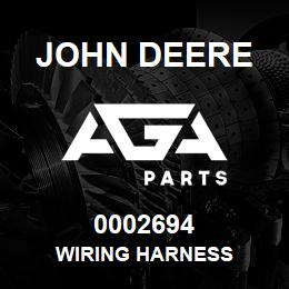 0002694 John Deere WIRING HARNESS | AGA Parts