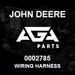 0002785 John Deere WIRING HARNESS | AGA Parts