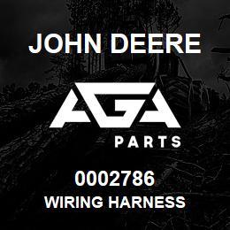 0002786 John Deere WIRING HARNESS | AGA Parts