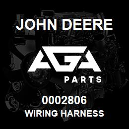 0002806 John Deere WIRING HARNESS | AGA Parts