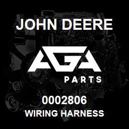 0002806 John Deere WIRING HARNESS