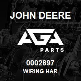 0002897 John Deere WIRING HAR