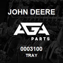 0003100 John Deere TRAY | AGA Parts