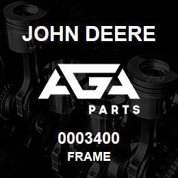 0003400 John Deere FRAME | AGA Parts
