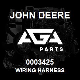 0003425 John Deere WIRING HARNESS | AGA Parts