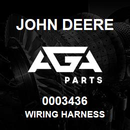 0003436 John Deere WIRING HARNESS | AGA Parts