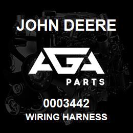 0003442 John Deere WIRING HARNESS | AGA Parts