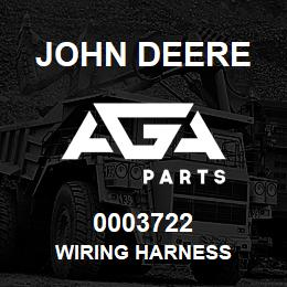 0003722 John Deere WIRING HARNESS | AGA Parts