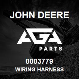 0003779 John Deere WIRING HARNESS
