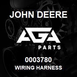0003780 John Deere WIRING HARNESS | AGA Parts