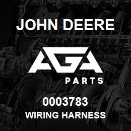 0003783 John Deere WIRING HARNESS | AGA Parts