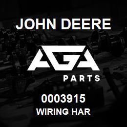0003915 John Deere WIRING HAR | AGA Parts
