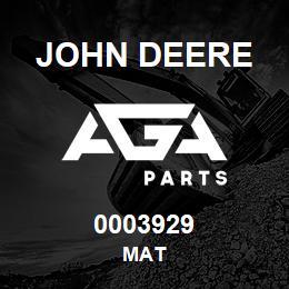 0003929 John Deere MAT