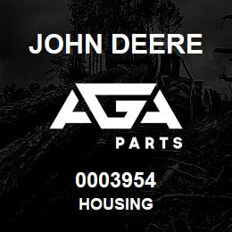 0003954 John Deere HOUSING | AGA Parts