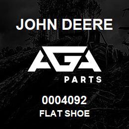 0004092 John Deere FLAT SHOE | AGA Parts
