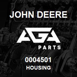 0004501 John Deere HOUSING | AGA Parts
