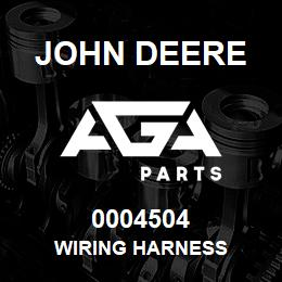 0004504 John Deere Wiring Harness | AGA Parts