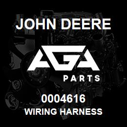 0004616 John Deere WIRING HARNESS | AGA Parts