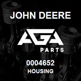 0004652 John Deere Housing
