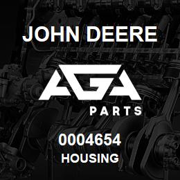 0004654 John Deere Housing | AGA Parts