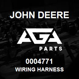0004771 John Deere Wiring Harness | AGA Parts