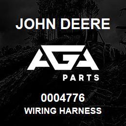 0004776 John Deere WIRING HARNESS