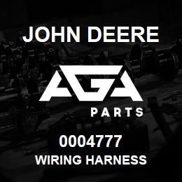 0004777 John Deere WIRING HARNESS | AGA Parts