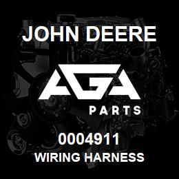 0004911 John Deere WIRING HARNESS | AGA Parts