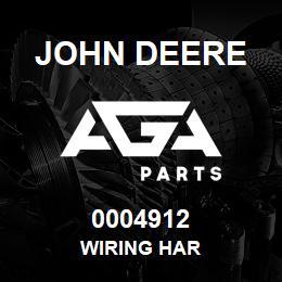 0004912 John Deere WIRING HAR