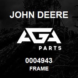 0004943 John Deere FRAME