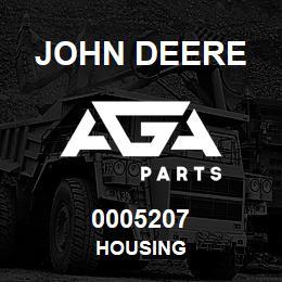 0005207 John Deere Housing