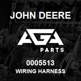 0005513 John Deere WIRING HARNESS