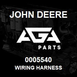 0005540 John Deere Wiring Harness