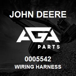 0005542 John Deere WIRING HARNESS